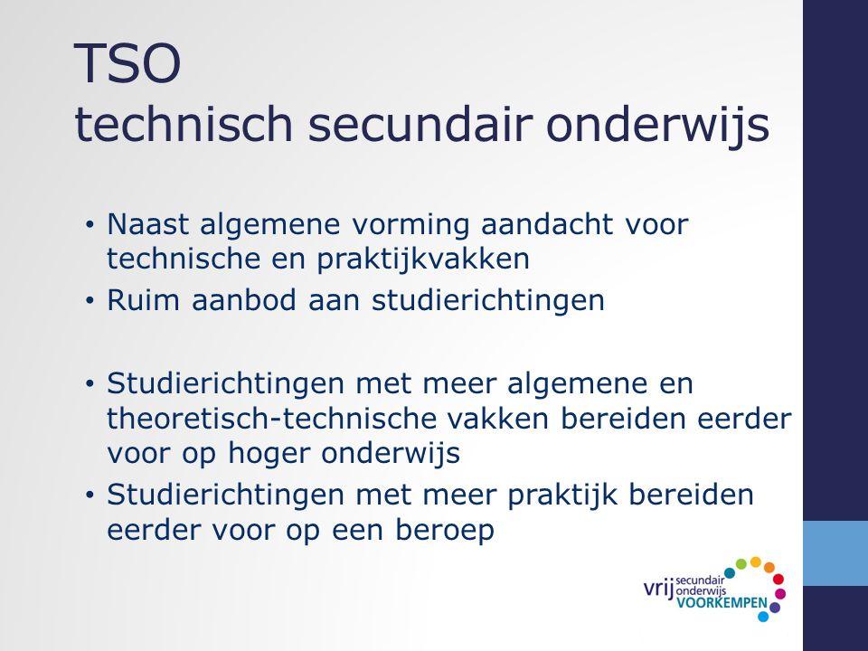 TSO technisch secundair onderwijs
