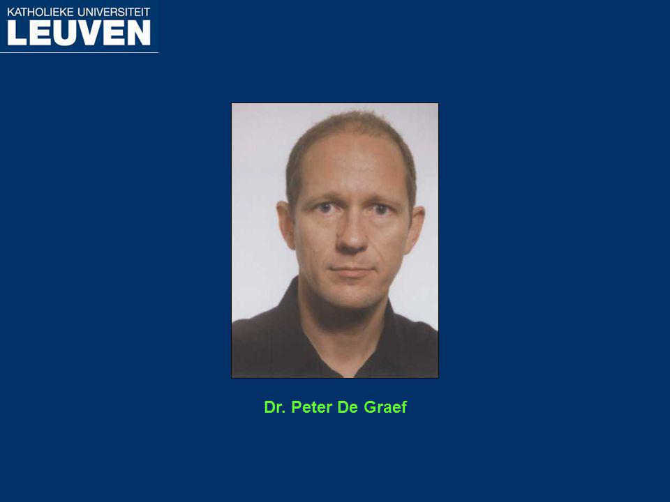 Dr. Peter De Graef