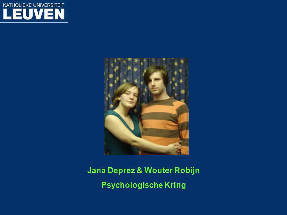 Jana Deprez & Wouter Robijn