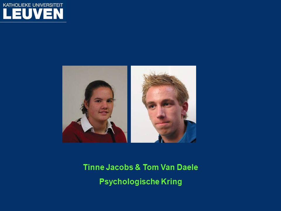 Tinne Jacobs & Tom Van Daele
