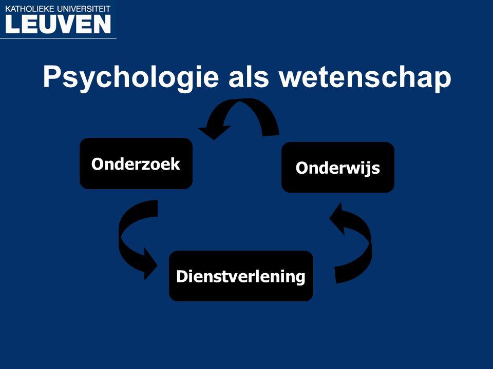 Psychologie als wetenschap