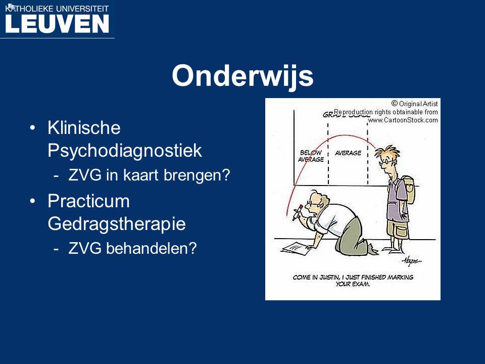 Onderwijs Klinische Psychodiagnostiek Practicum Gedragstherapie