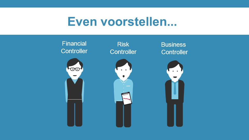 Even voorstellen... Financial Risk Business Controller Controller