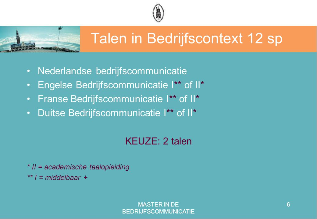 Talen in Bedrijfscontext 12 sp