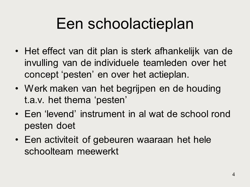 Een schoolactieplan
