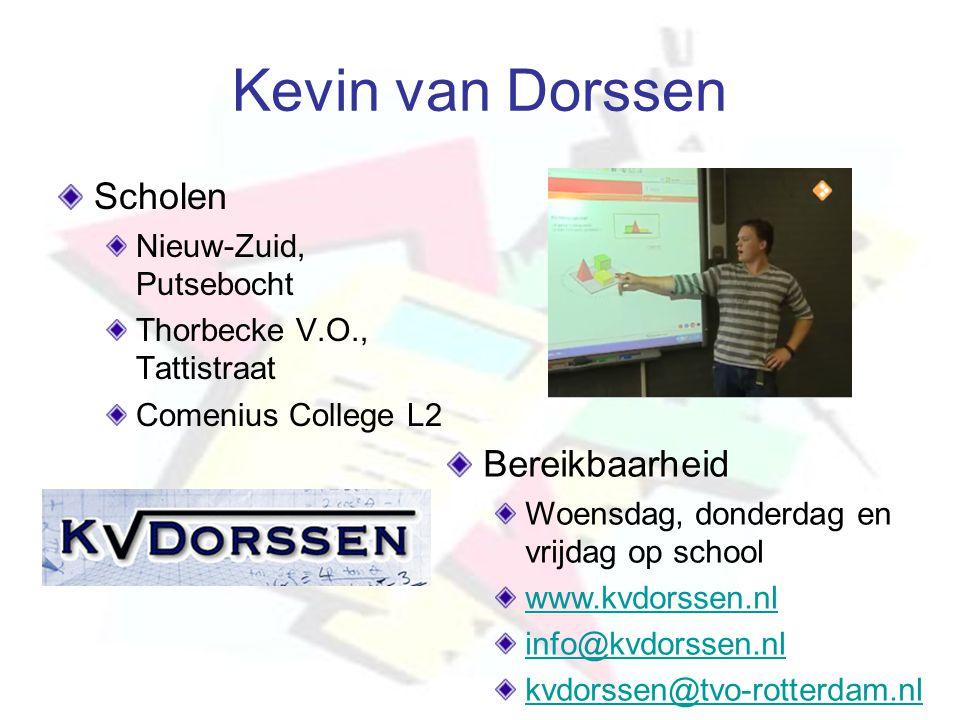 Kevin van Dorssen Scholen Bereikbaarheid Nieuw-Zuid, Putsebocht