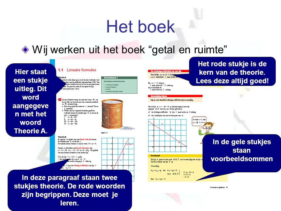 Het boek Wij werken uit het boek getal en ruimte