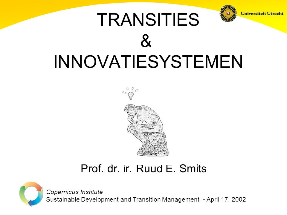 TRANSITIES & INNOVATIESYSTEMEN