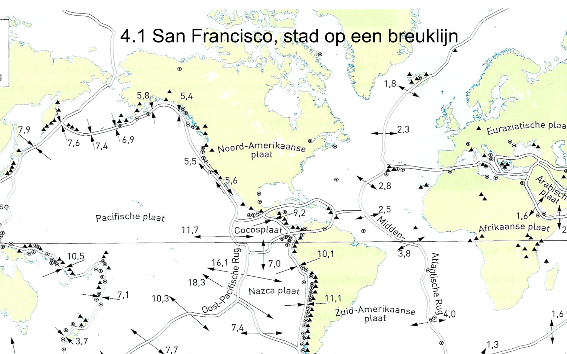4.1 San Francisco, stad op een breuklijn