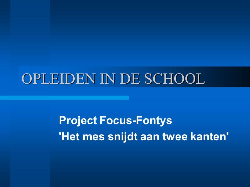 Project Focus-Fontys Het mes snijdt aan twee kanten