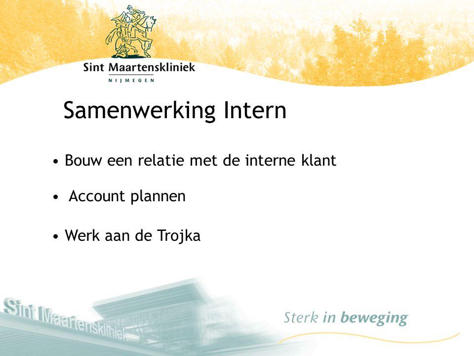 Samenwerking Intern Bouw een relatie met de interne klant