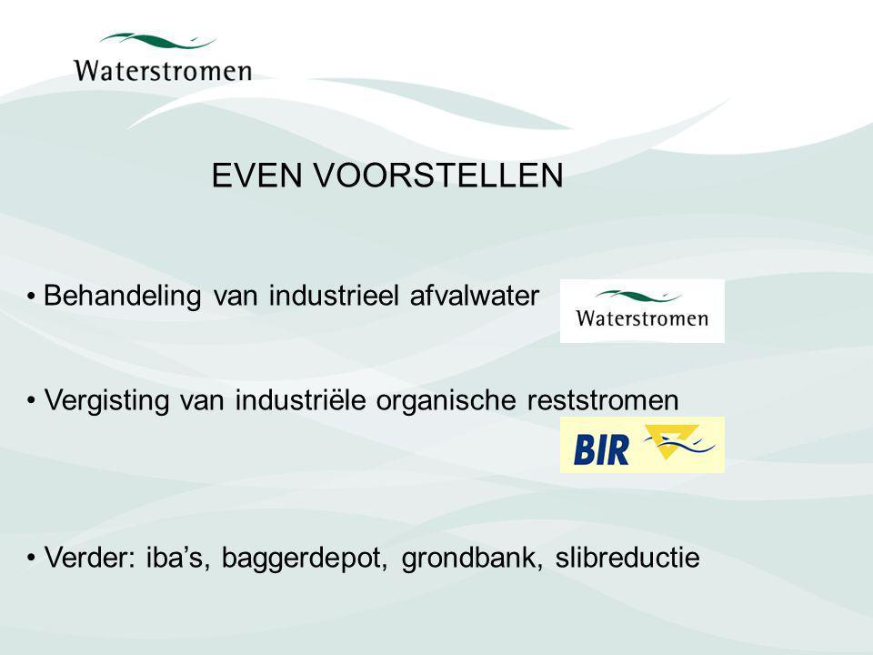 EVEN VOORSTELLEN Behandeling van industrieel afvalwater