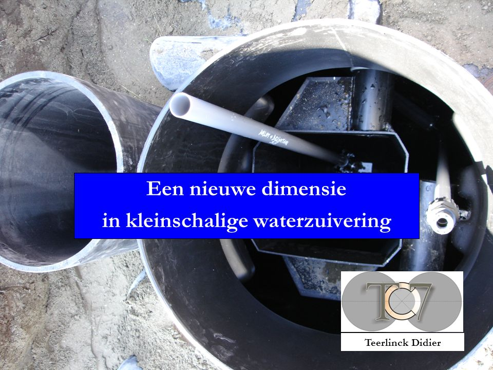 Een nieuwe dimensie in kleinschalige waterzuivering