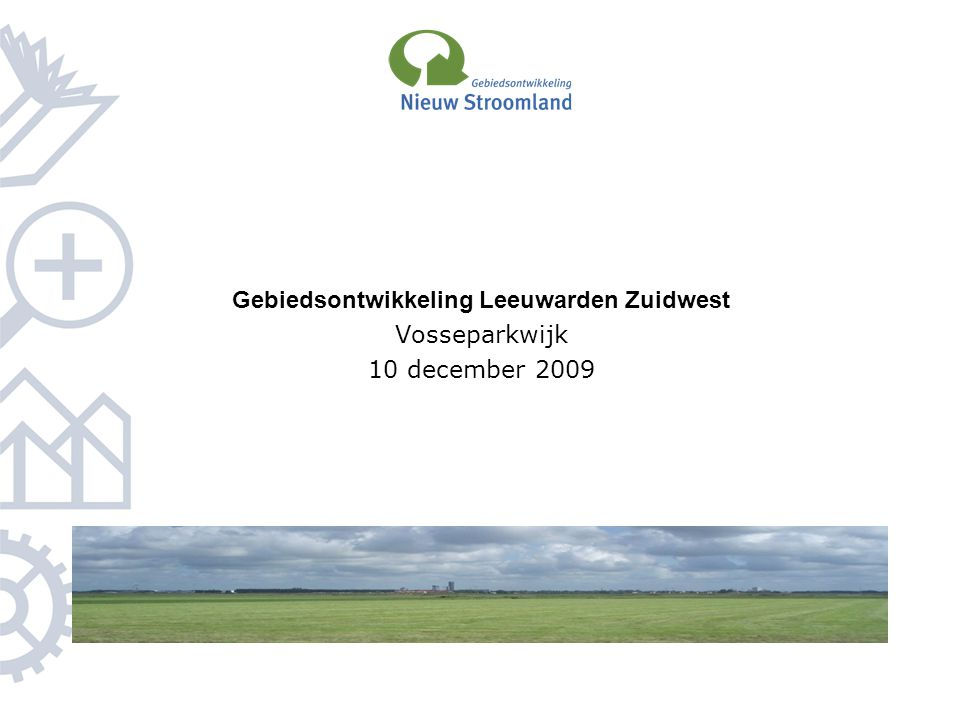 Gebiedsontwikkeling Leeuwarden Zuidwest
