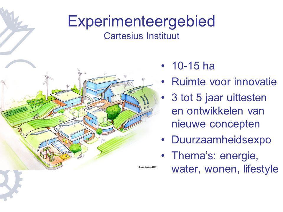 Experimenteergebied Cartesius Instituut