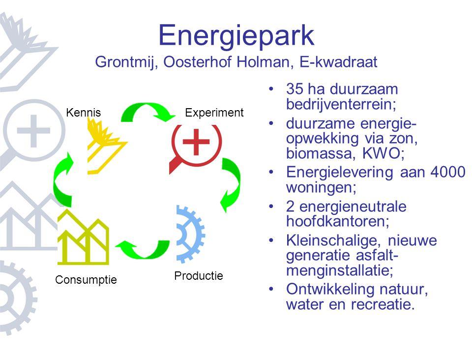 Energiepark Grontmij, Oosterhof Holman, E-kwadraat