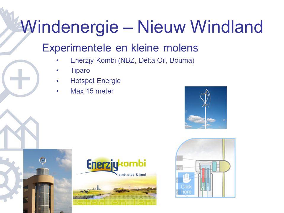 Windenergie – Nieuw Windland