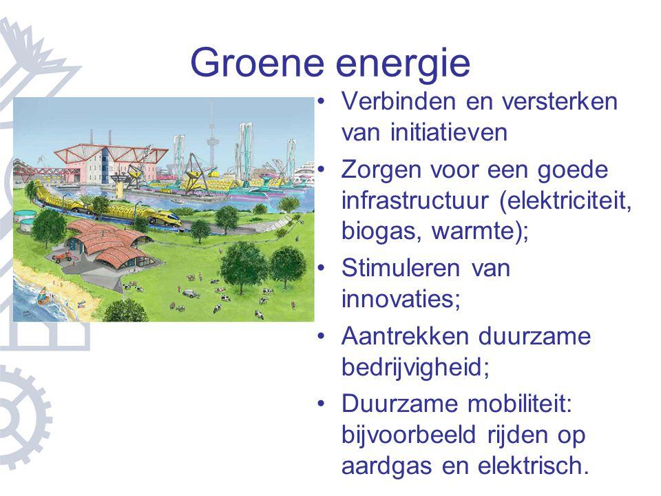 Groene energie Verbinden en versterken van initiatieven