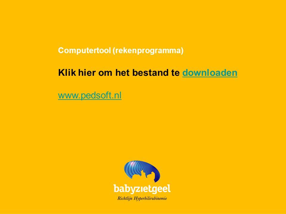 Klik hier om het bestand te downloaden www.pedsoft.nl