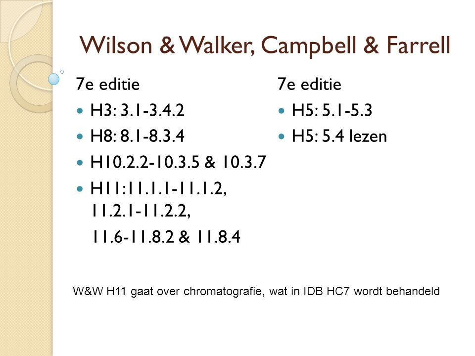 Wilson & Walker, Campbell & Farrell