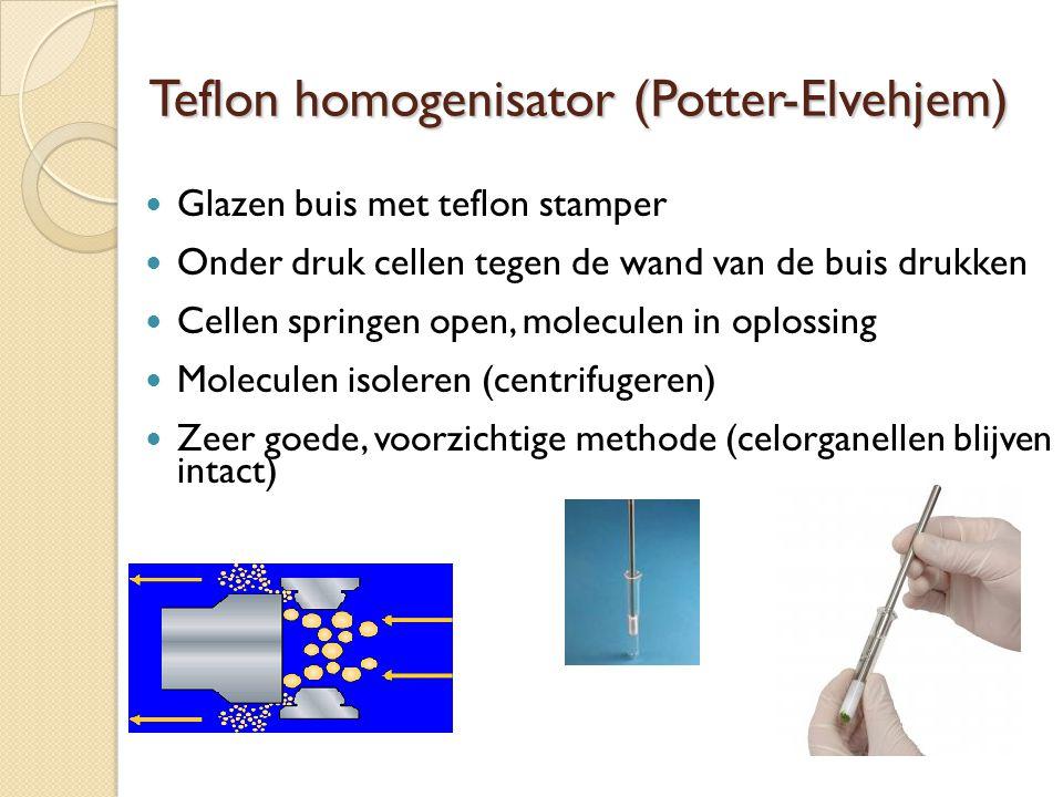 Teflon homogenisator (Potter-Elvehjem)