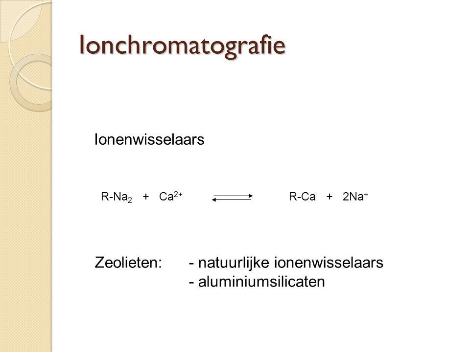 Ionchromatografie Ionenwisselaars