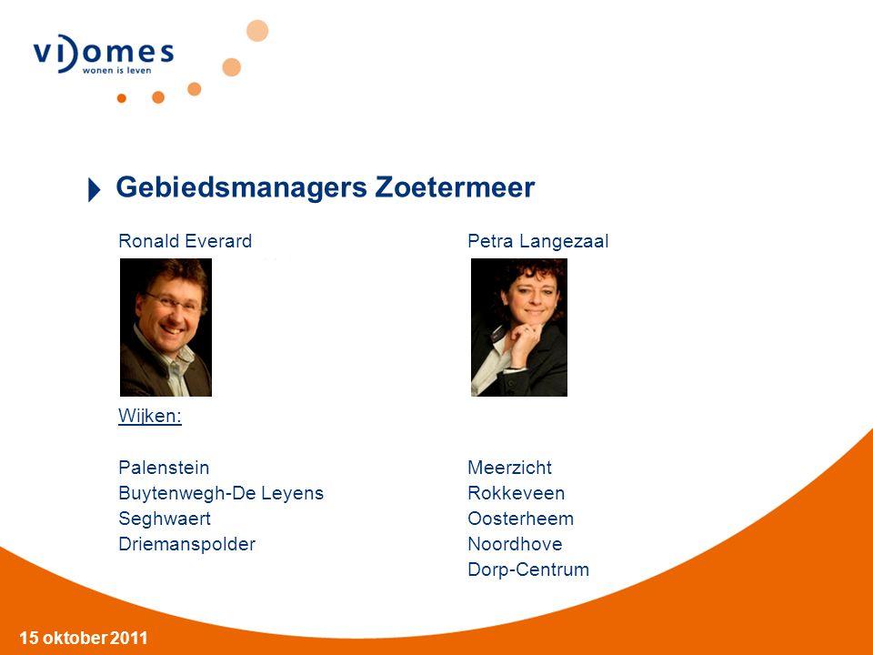 Gebiedsmanagers Zoetermeer