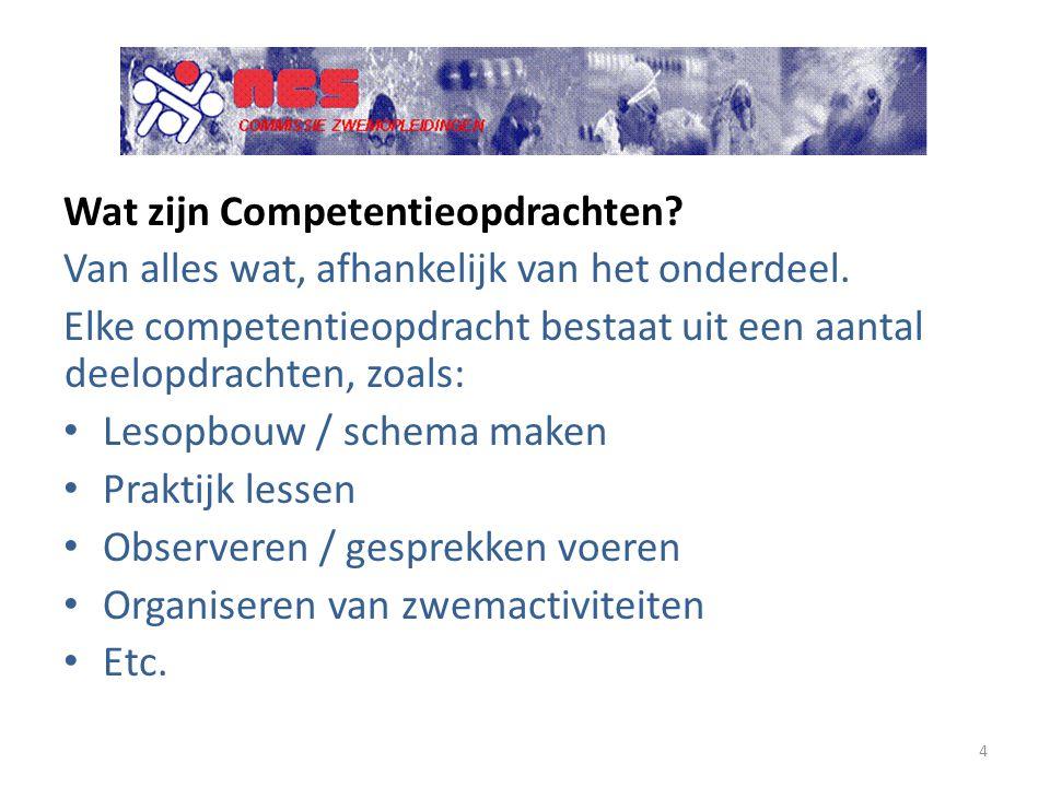 Wat zijn Competentieopdrachten