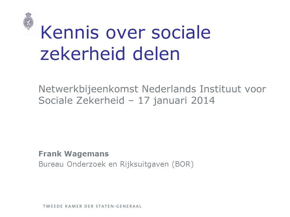 Kennis over sociale zekerheid delen