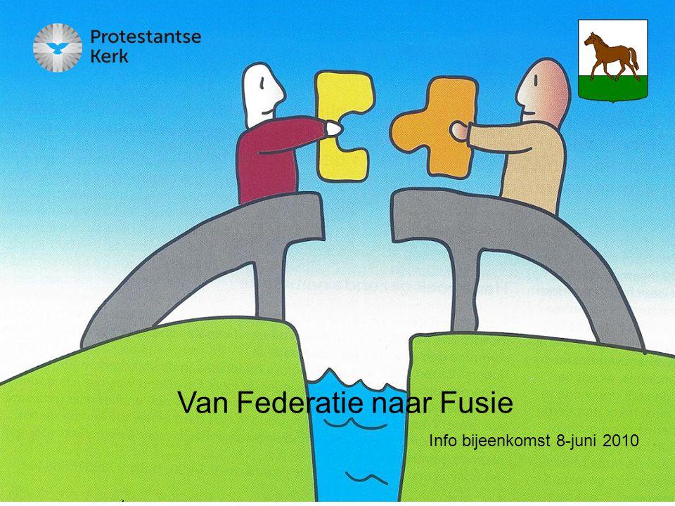 Van Federatie naar Fusie