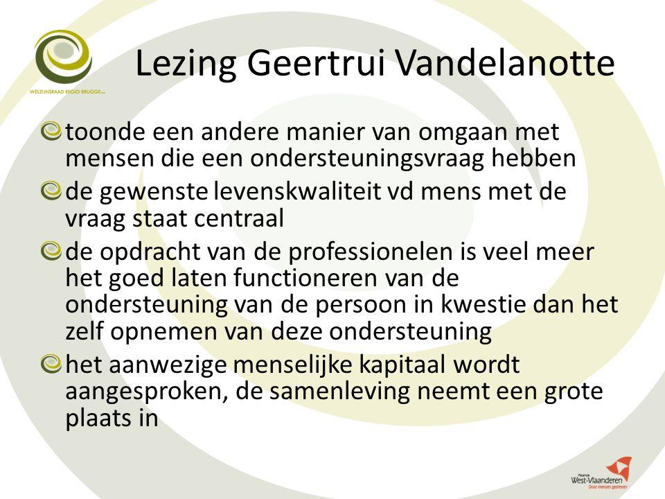 Lezing Geertrui Vandelanotte