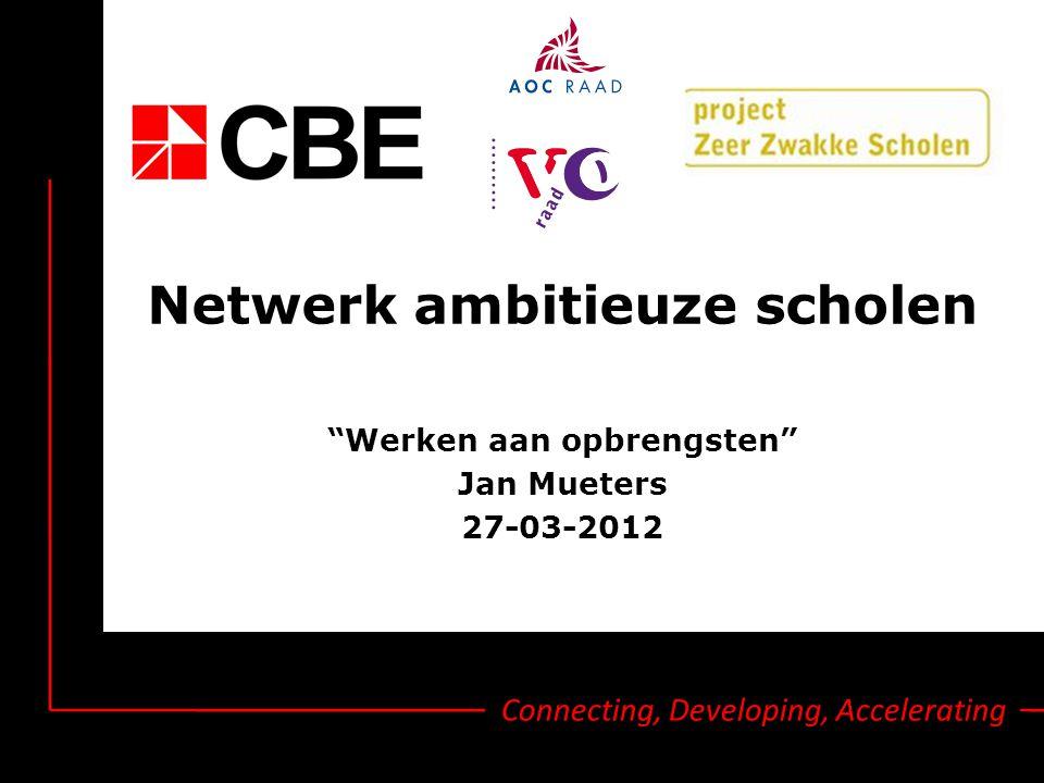 Netwerk ambitieuze scholen
