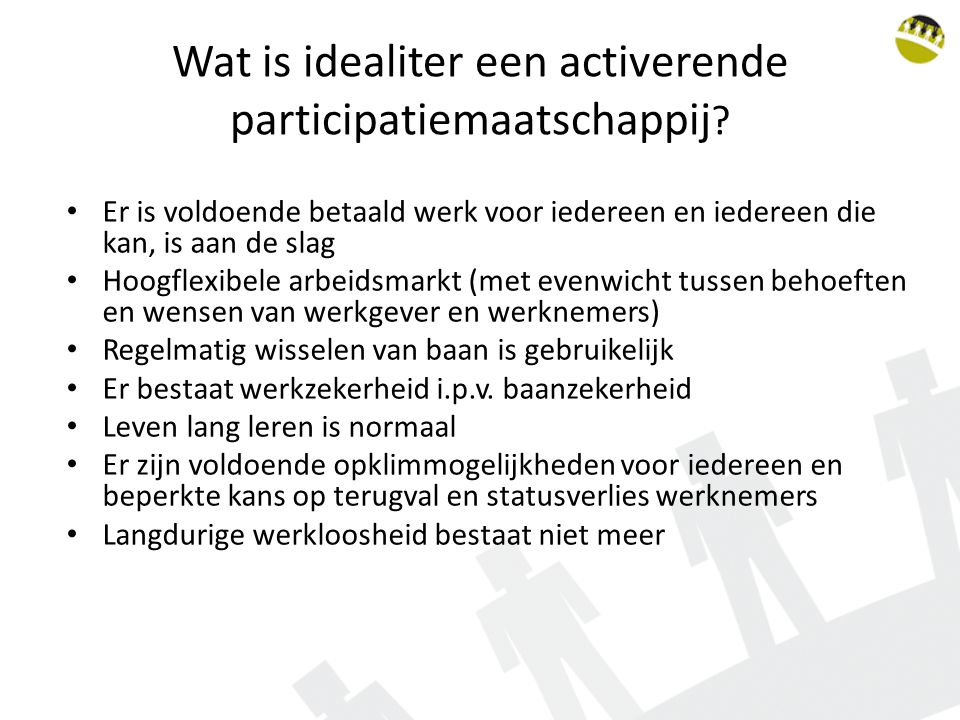 Wat is idealiter een activerende participatiemaatschappij