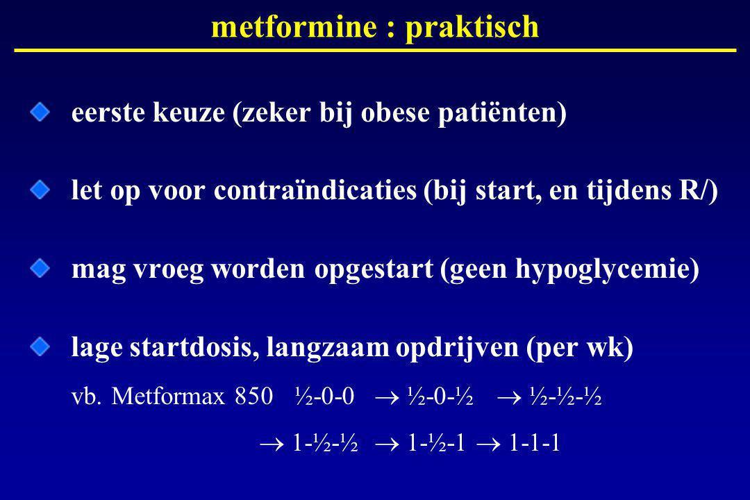 metformine : praktisch