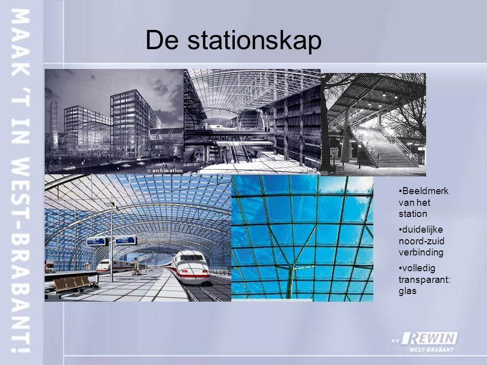 De stationskap Beeldmerk van het station