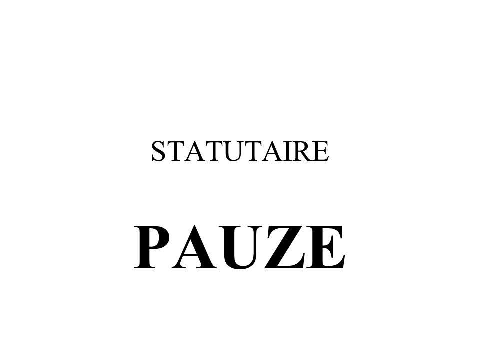STATUTAIRE PAUZE