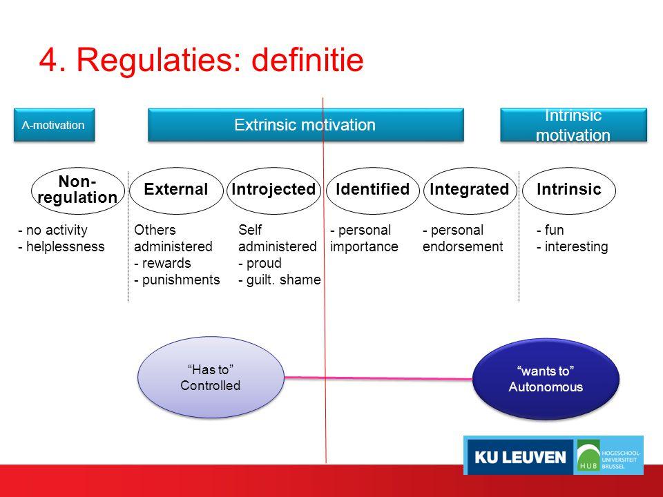 4. Regulaties: definitie
