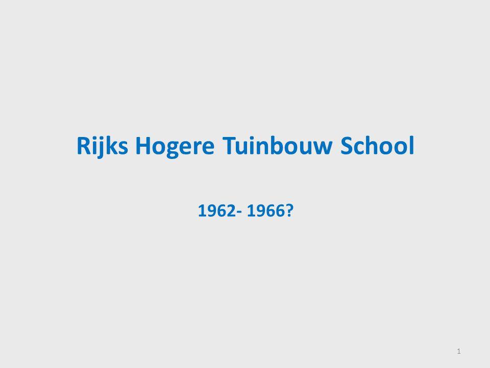 Rijks Hogere Tuinbouw School