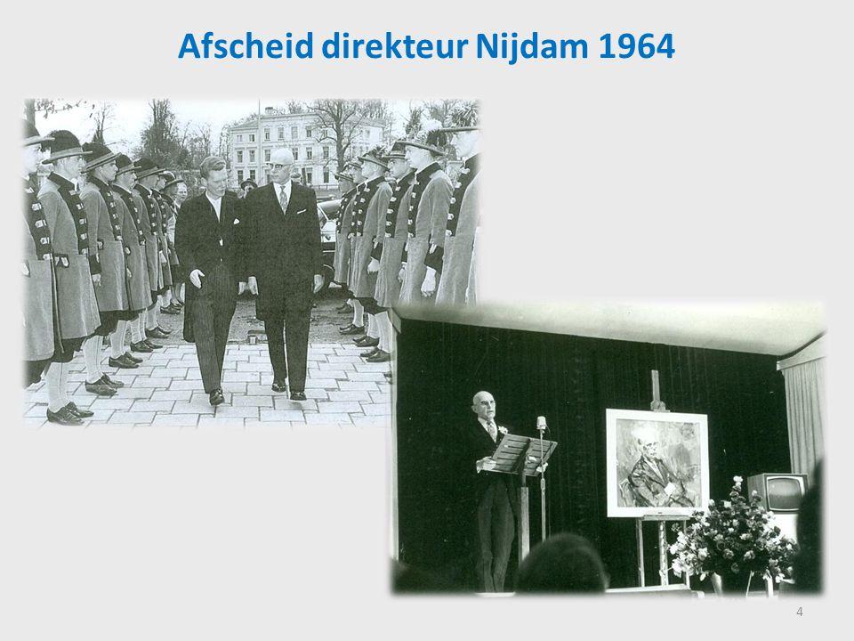 Afscheid direkteur Nijdam 1964