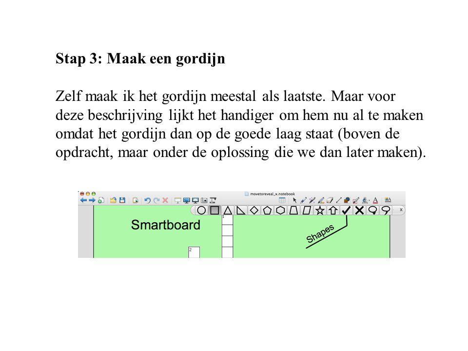 Voorkeur Smartboard: Move to reveal (gordijn en vergrootglas) - ppt download ZF29