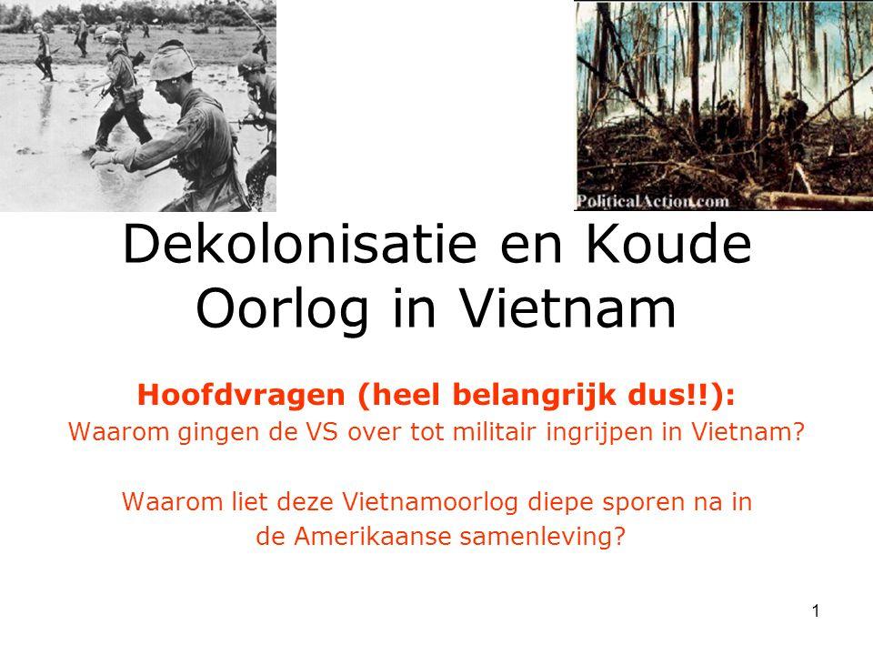 Dekolonisatie en Koude Oorlog in Vietnam