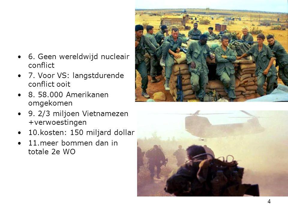 6. Geen wereldwijd nucleair conflict