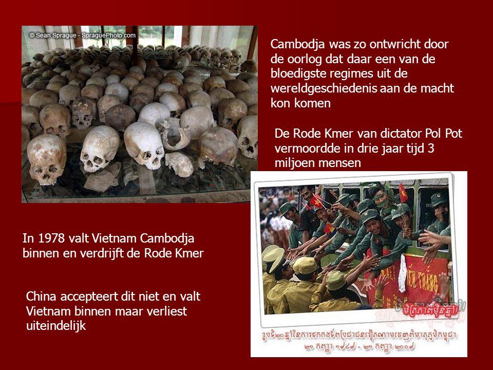 Cambodja was zo ontwricht door de oorlog dat daar een van de bloedigste regimes uit de wereldgeschiedenis aan de macht kon komen