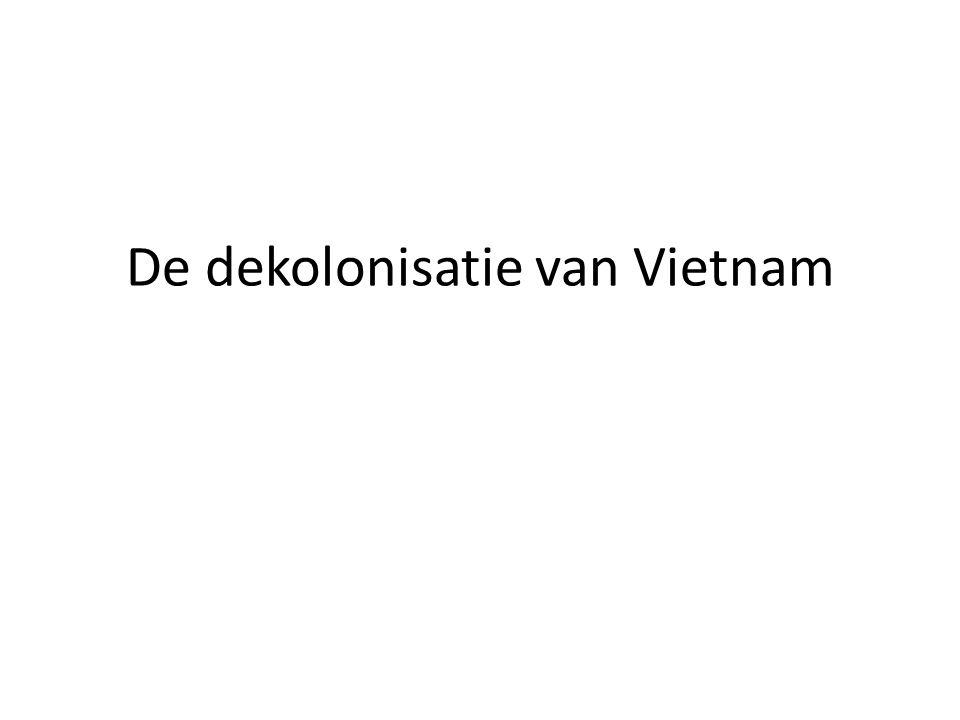 De dekolonisatie van Vietnam