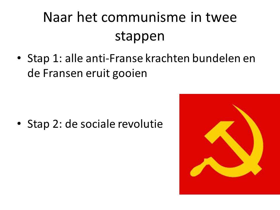 Naar het communisme in twee stappen
