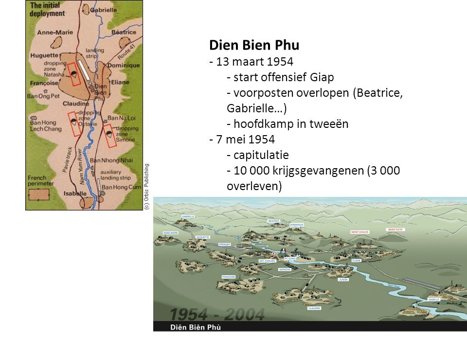 Dien Bien Phu - 13 maart 1954 - start offensief Giap