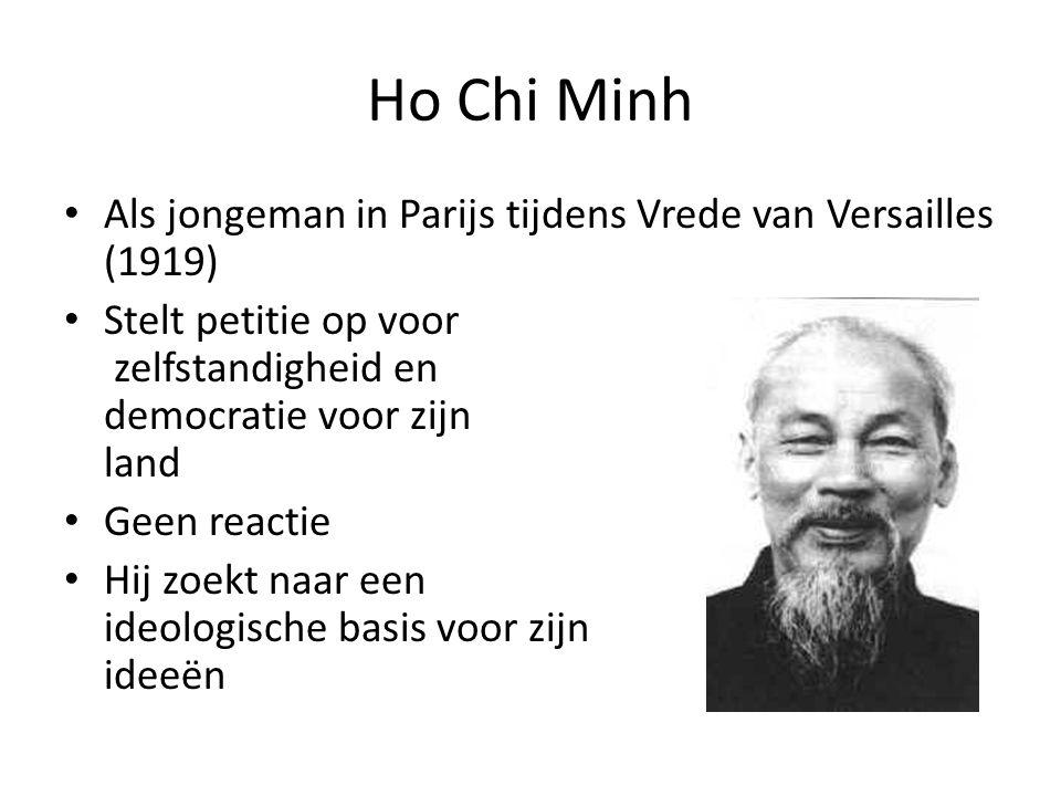 Ho Chi Minh Als jongeman in Parijs tijdens Vrede van Versailles (1919)