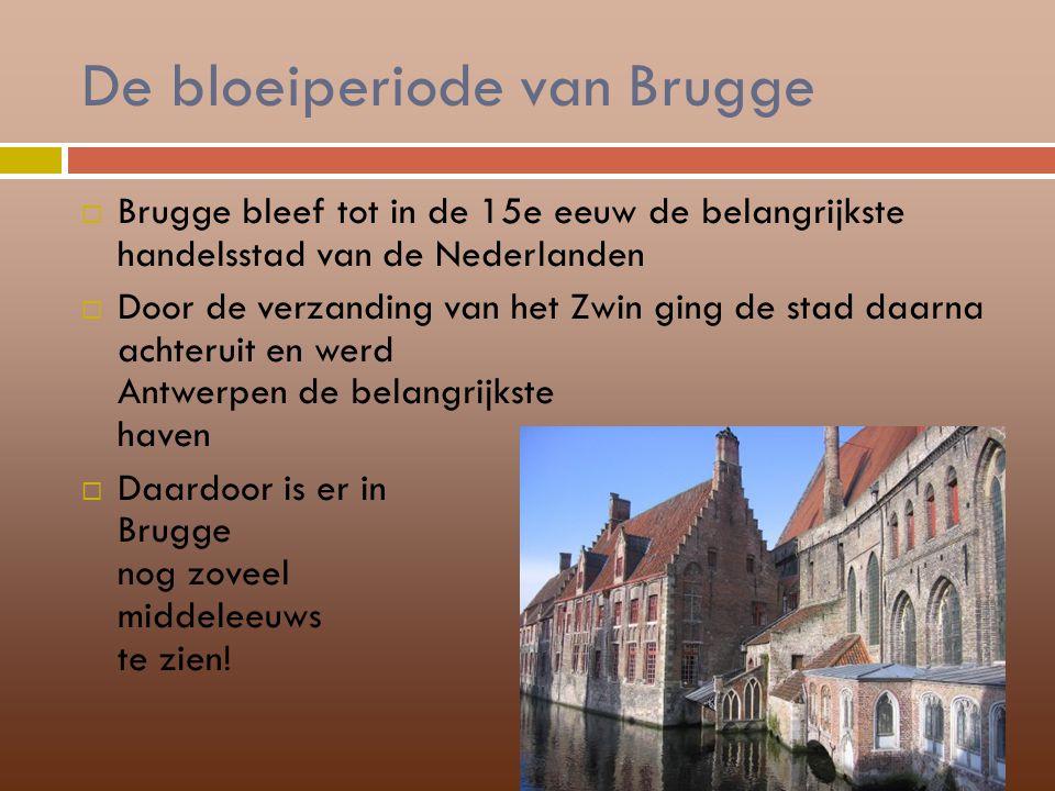 De bloeiperiode van Brugge