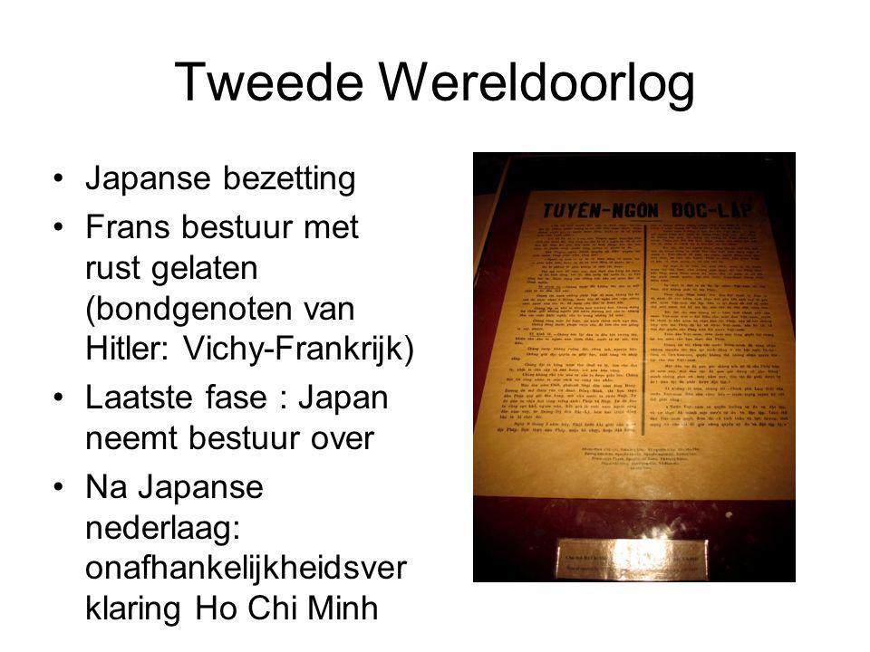 Tweede Wereldoorlog Japanse bezetting