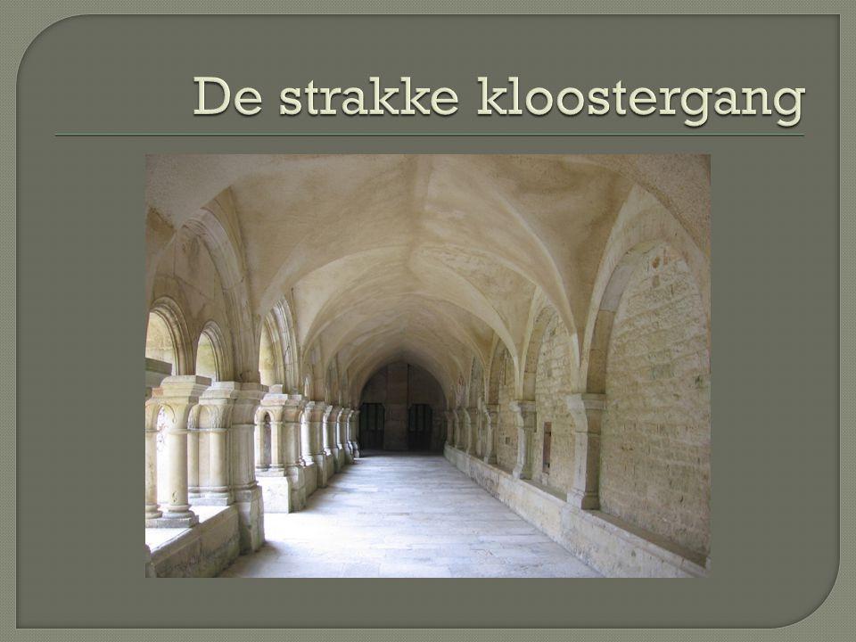 De strakke kloostergang